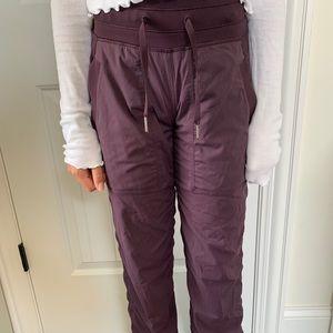 Lululemon purple joggers